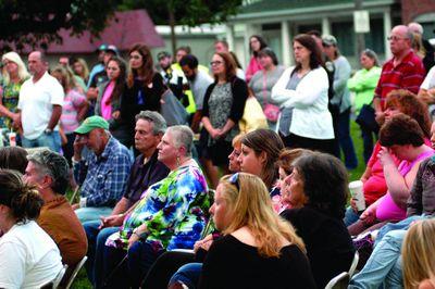 4th death from heroin; vigil draws crowd