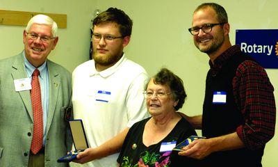Sharon Rotary celebrates past, hopes for future