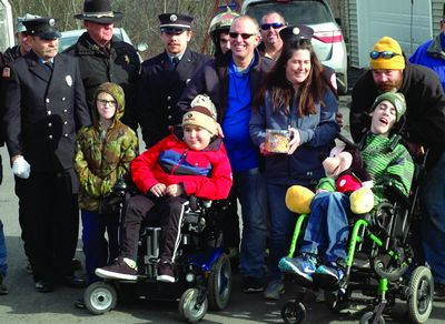 Cops, FDs help deliver Disney surprise to Gallupville boy