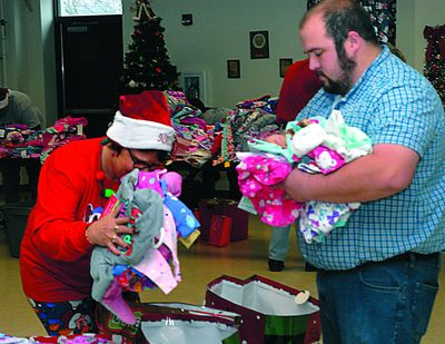 Toasty Toes delivers pjs to kids