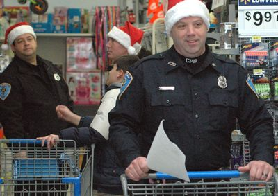Cobleskill PD finds Santa tough act to follow