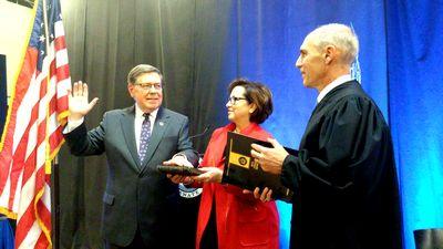 Seward sworn in for 16th State Senate term