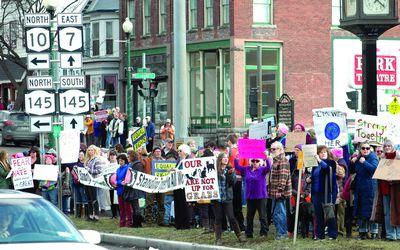 Cobleskill joins 2 million marchers