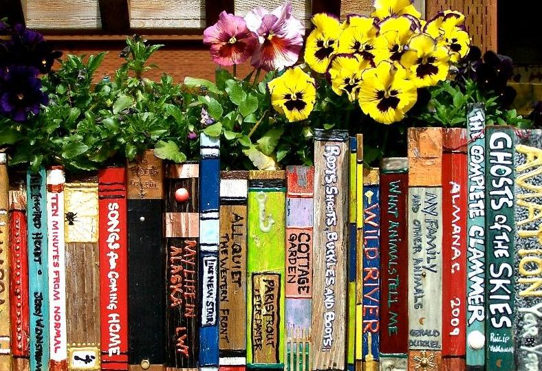 Annual Books & Blooms Fundraiser
