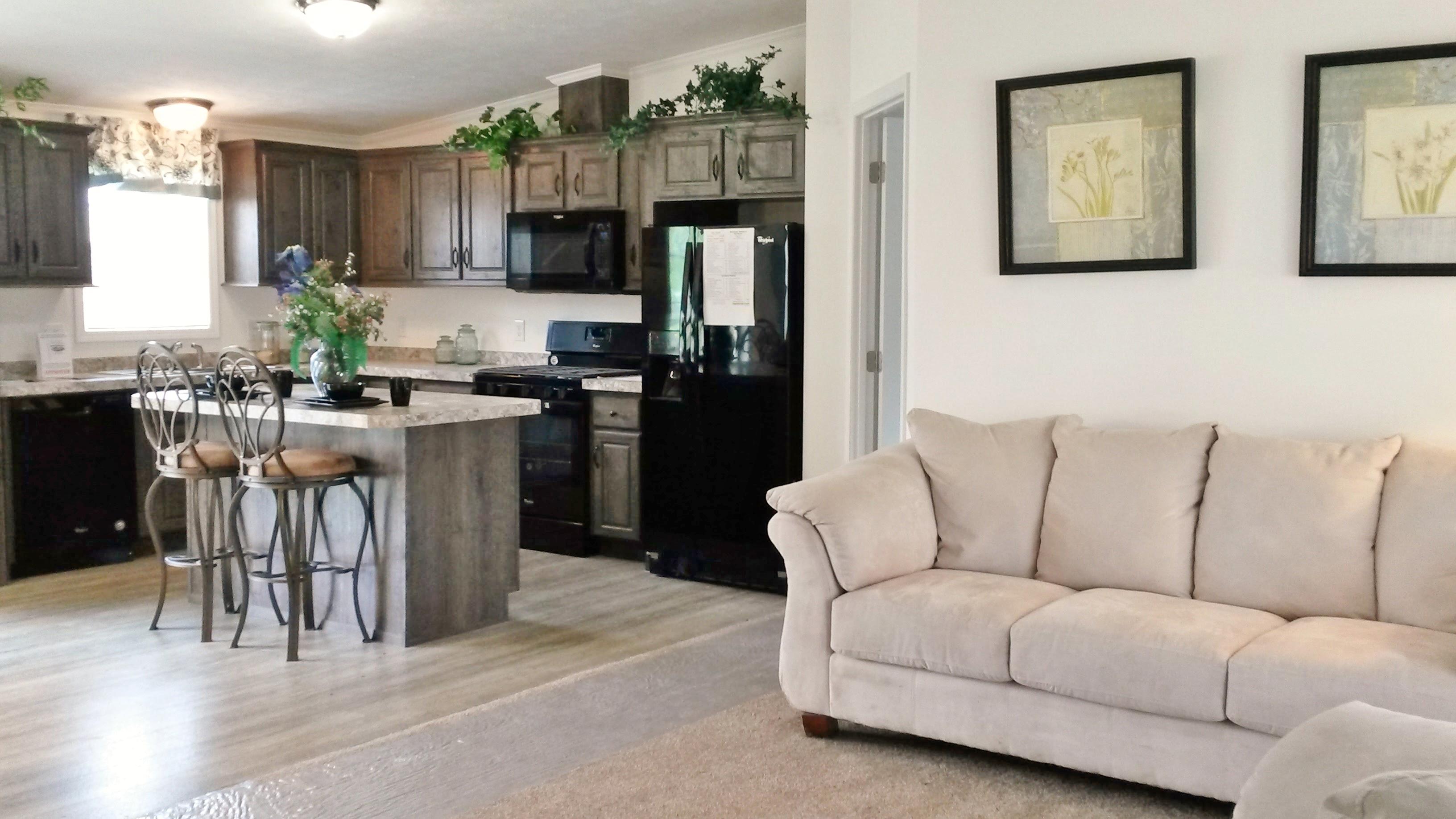 Open, spacious floor plan