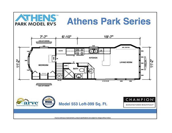 Athens Park Model