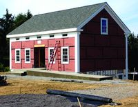 Duanesburg historical center nearly completed