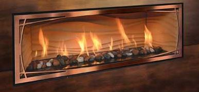 Mendota FullView Décor Linear Gas Firepalces