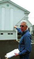 Schoharie Reformed Church back from irene