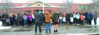C-R students join gun violence walkout