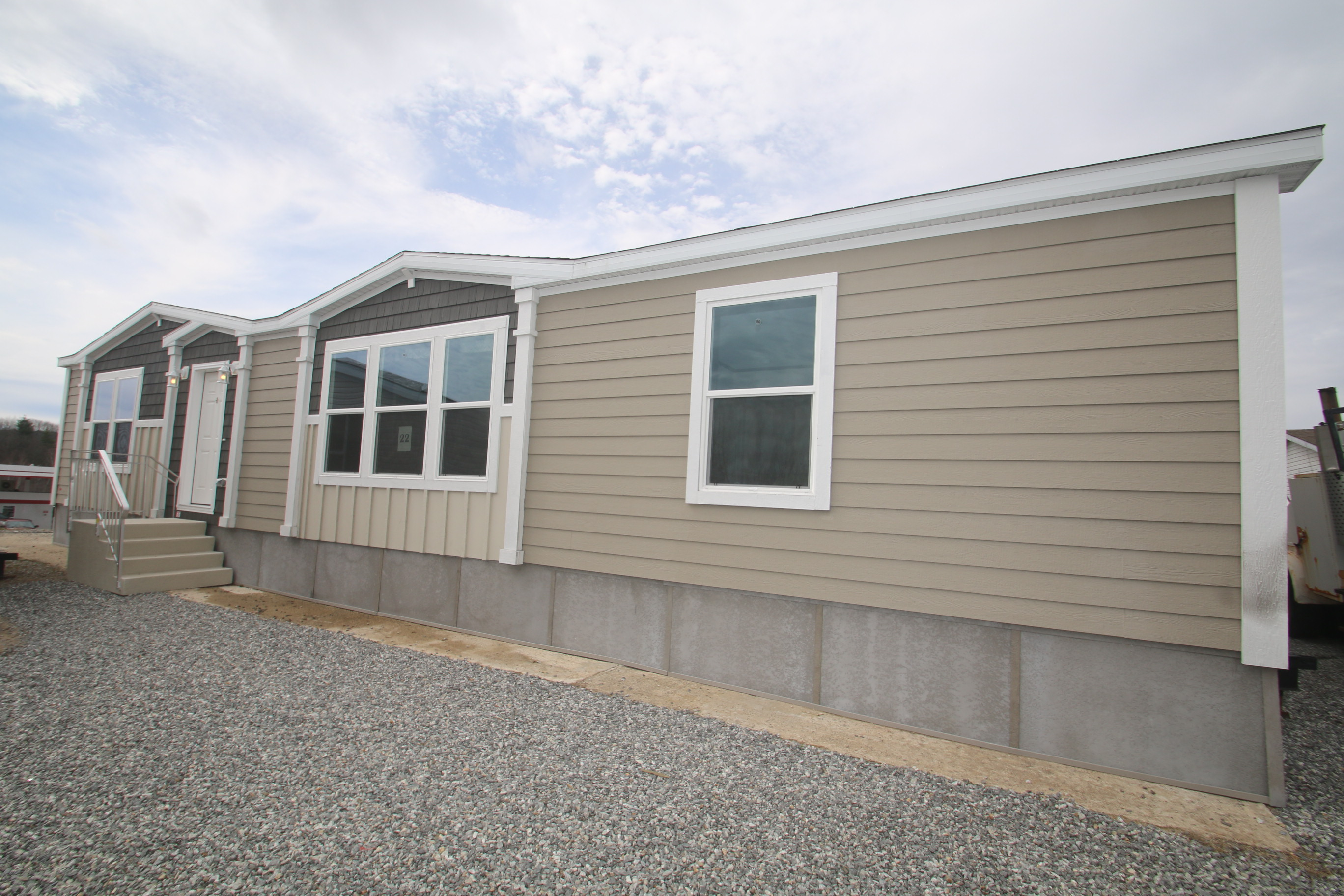 $32,995 mobile home, $59,995 28 wide $83,995 Modular cape
