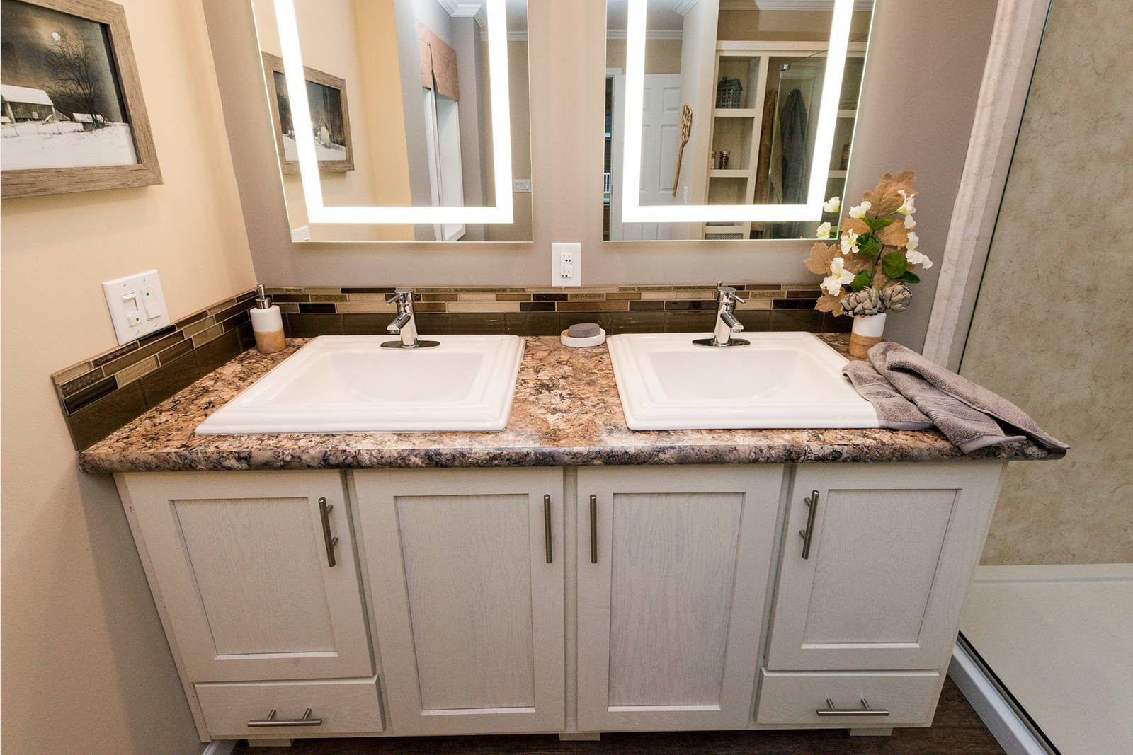 Master Bath From Show Model
