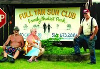 50 years of no clothes: Full-Tan Sun Club
