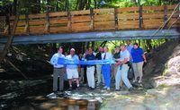 NYPA cuts ribbon on Long Path footbridge