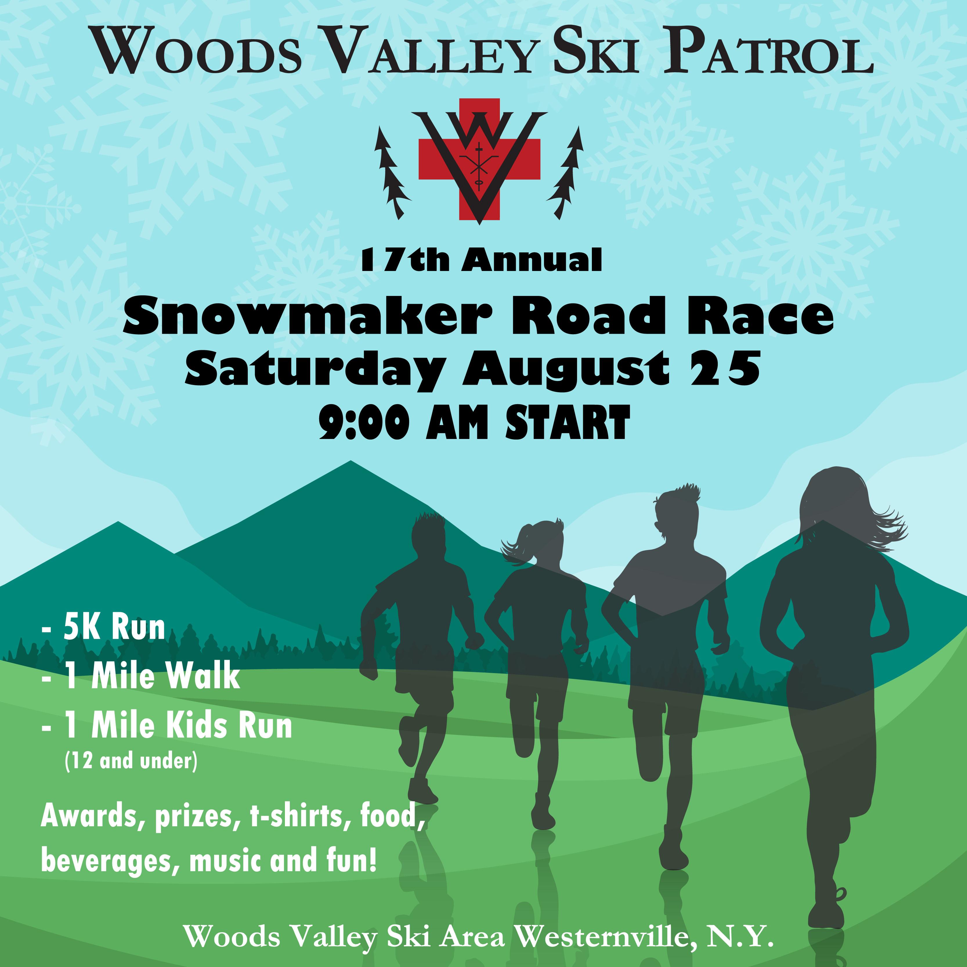 17th Annual Snow Maker Run/Walk