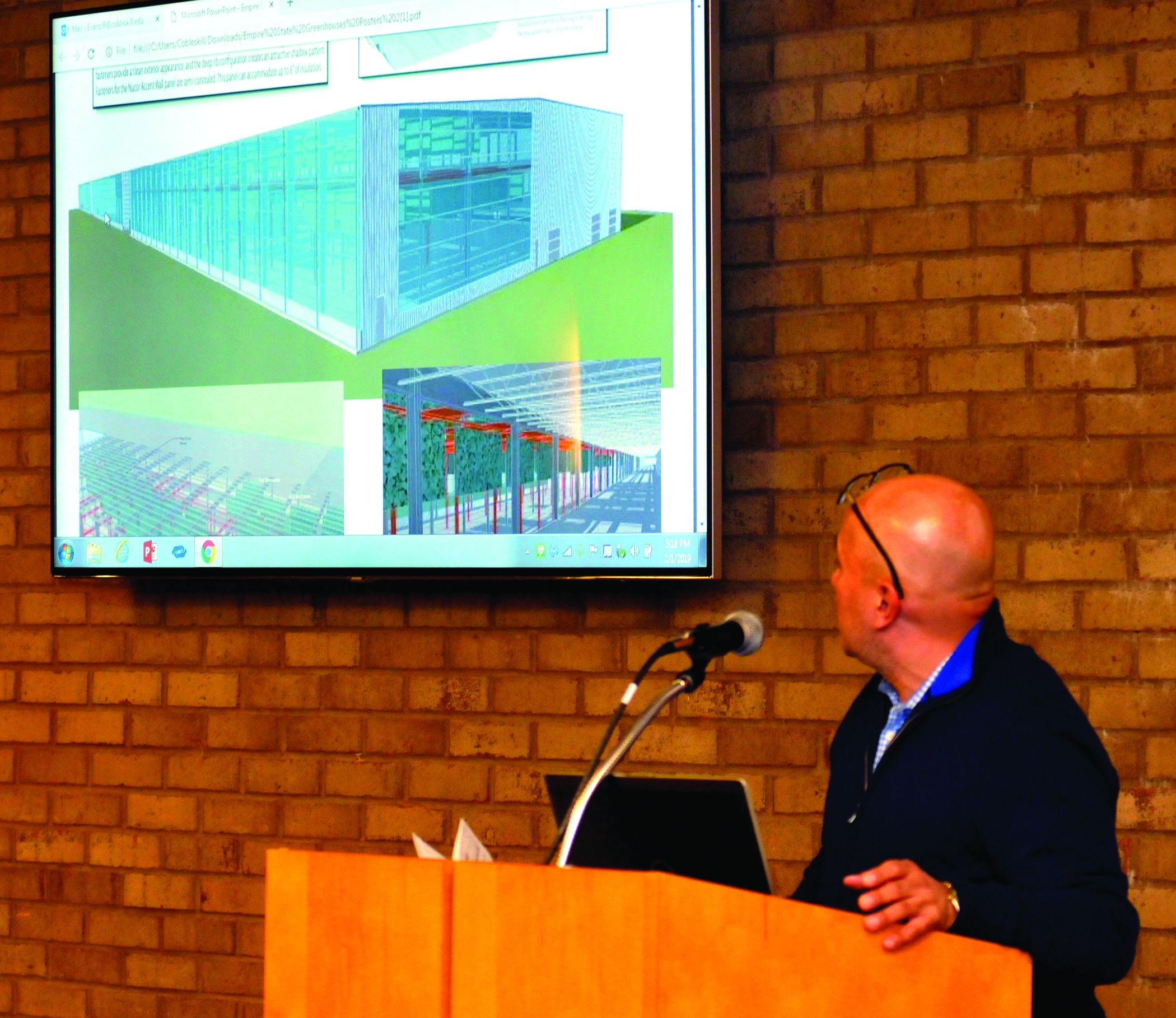 Cobleskill gets a look at huge greenhouse project