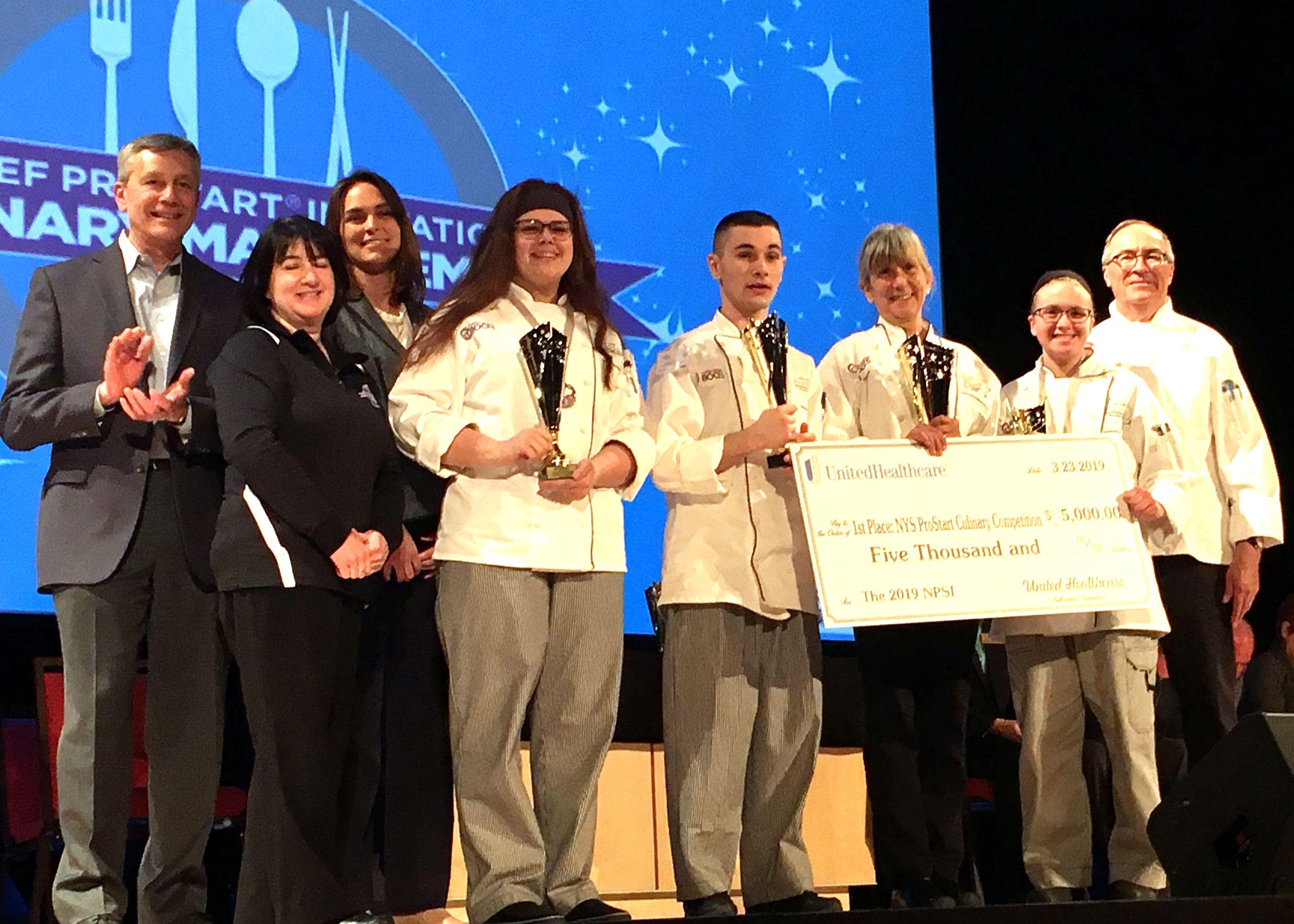 BOCES culinary team wins ProStart--again