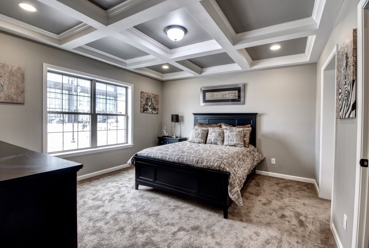 Master Bedroom With Featured Ceiling