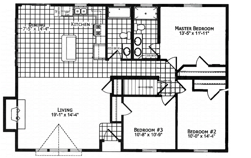 Floor Plan as Displayed