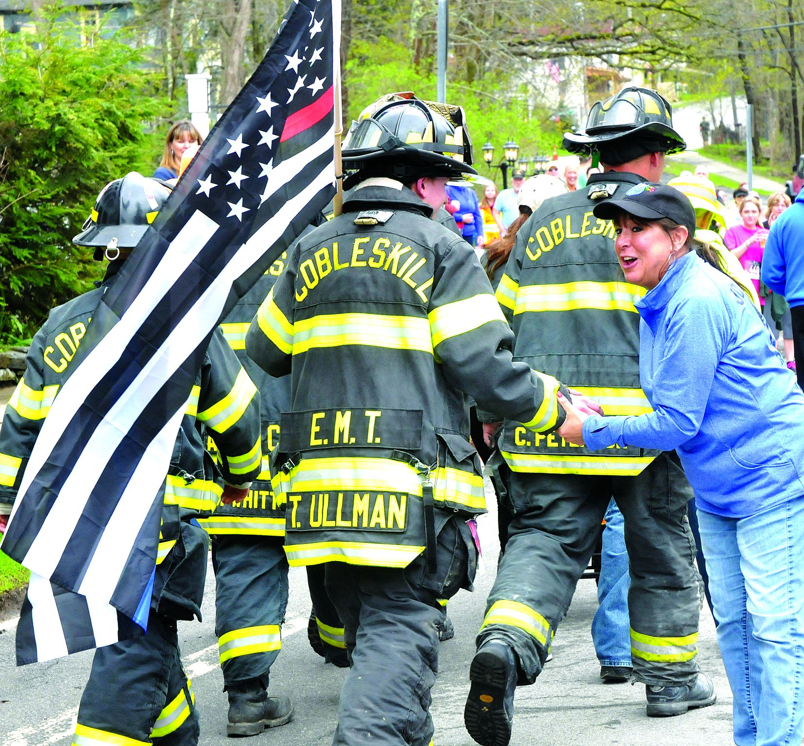 Run 4 the Hills a winner for 1st responders