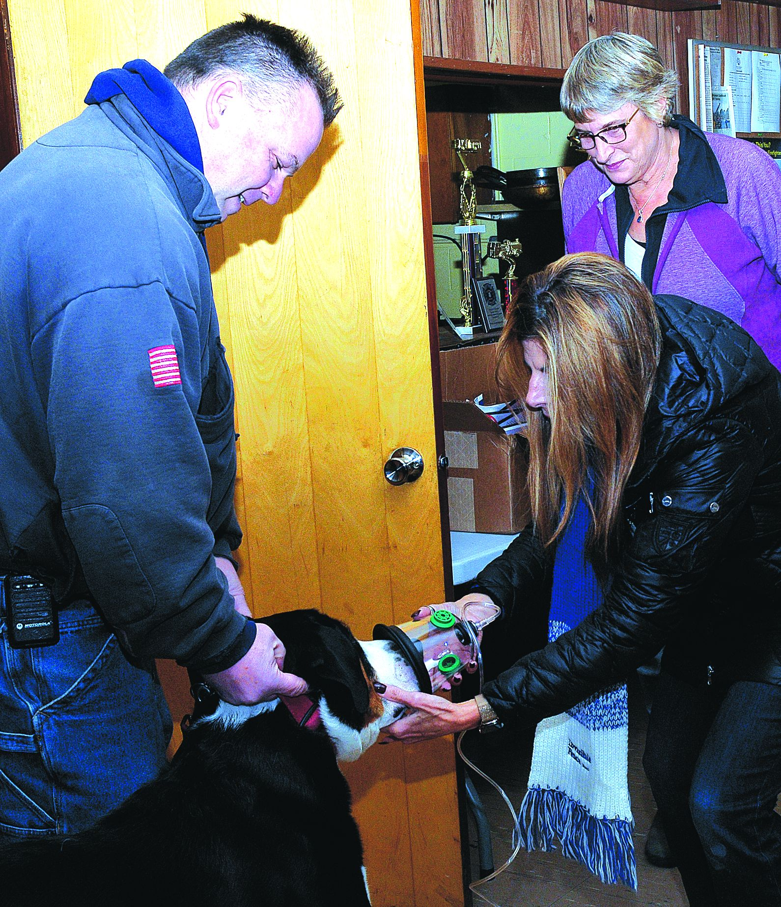 Middleburgh FD gets pet O2 masks