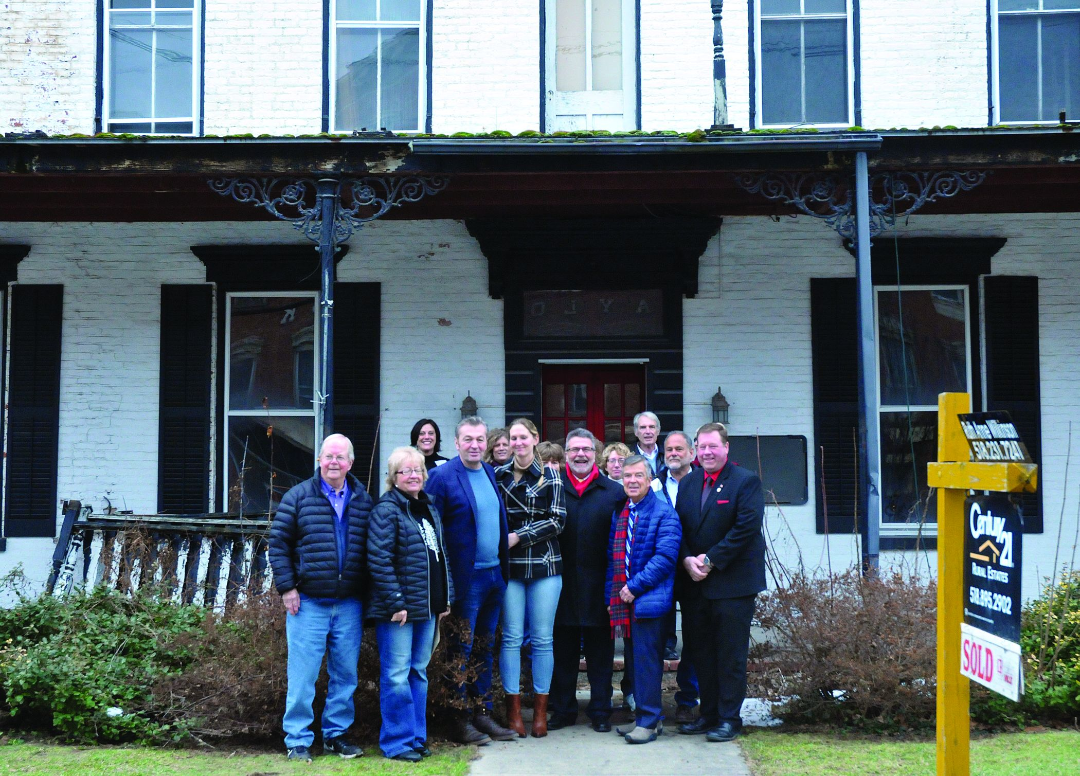 Sold: New owners plan to breathe new life into Parrott House