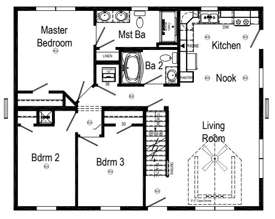 Also Available As A 2 Bedroom