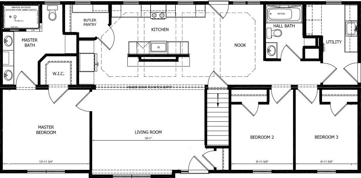 One of Many Family Of Homes  Plans
