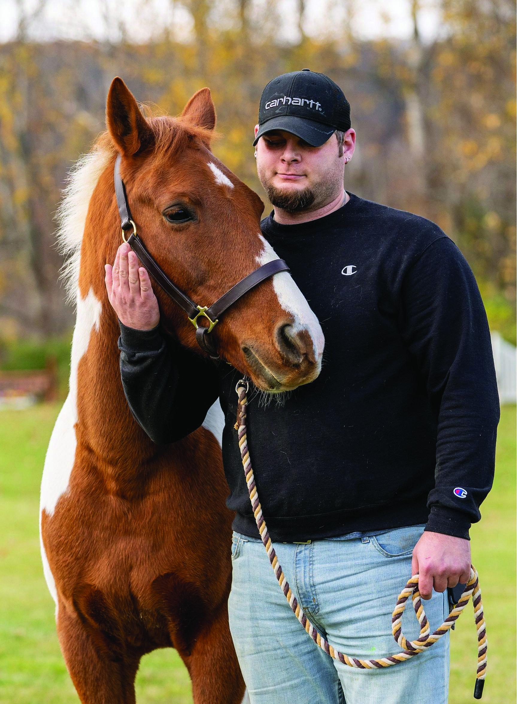 SUNY Cobleskill matches up vets, horses