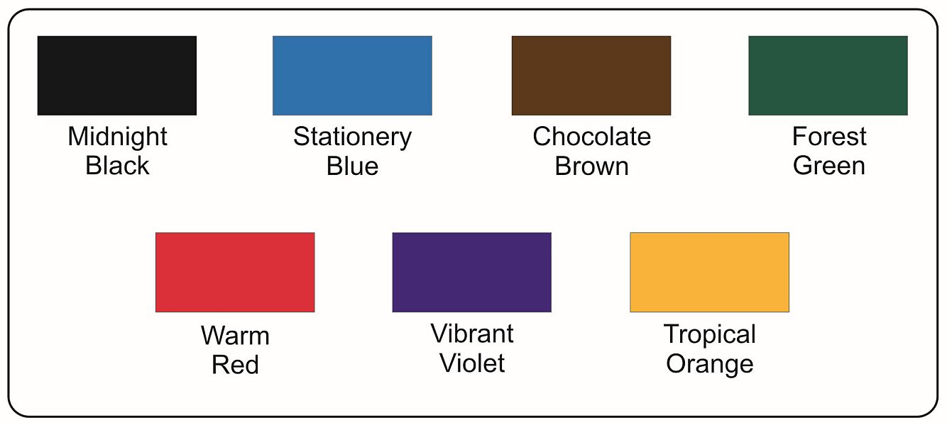 Ink: Stock Color Chips
