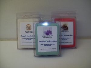 Natural soy wax tarts