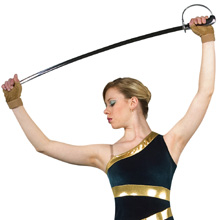 The Blade color guard sabers 36 Inch and 39 Inch