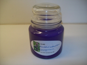 -- Soy Wax Candle All Natural  17 oz.  Jar