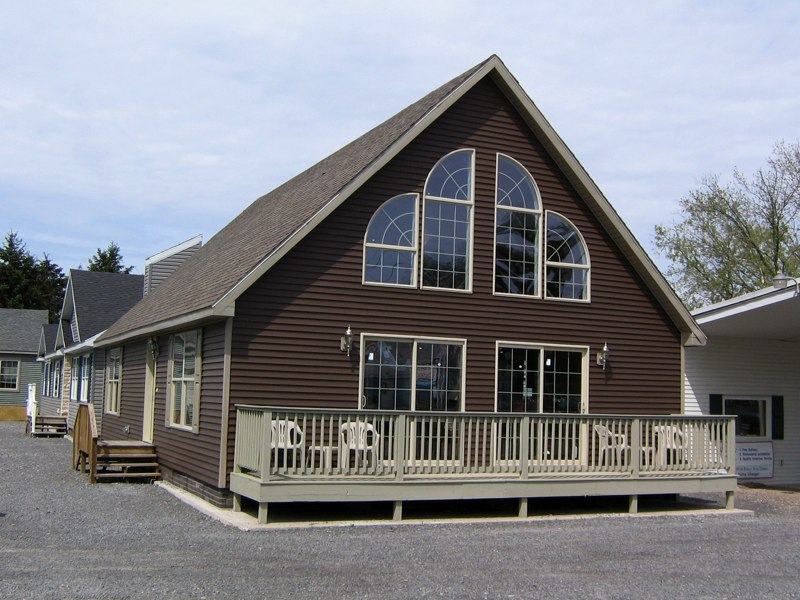 Our cape chalet homes american home for Chalet modular homes