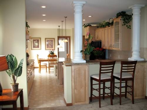Great Room to Kitchen and Nook