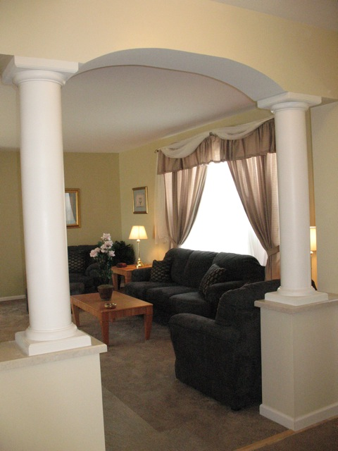 Entrance to Living Room
