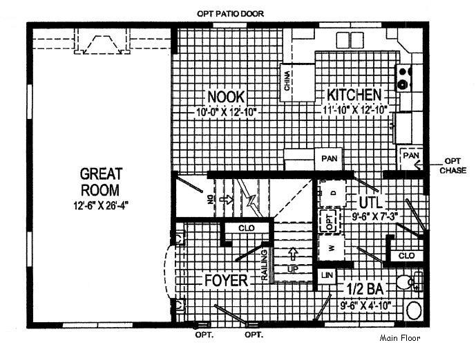 Manorwood NS310A Modular Home for Sale by American Homes CNY
