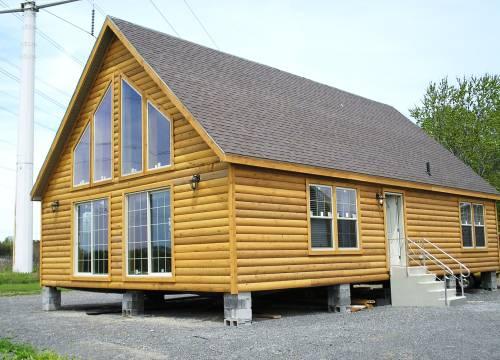 Cedar Log Siding