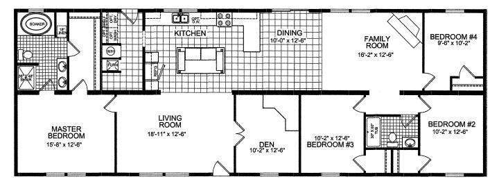 Titan PN970-II Modular Home for Sale by American Homes CNY