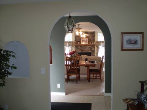 Foyer to Family Room