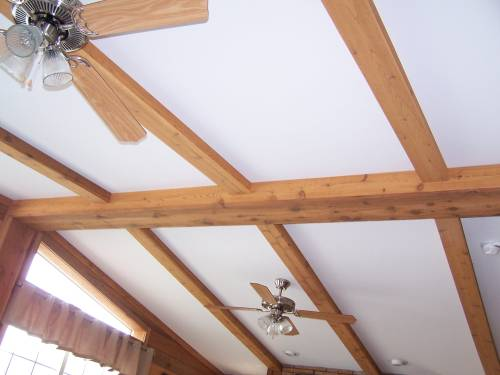 Cedar Ceiling Beams