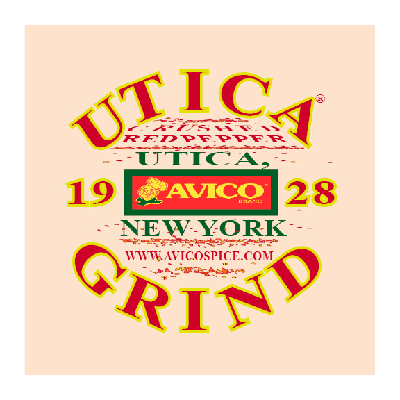 UTICA GRIND CLEAR CAR  WINDOW  STICKER