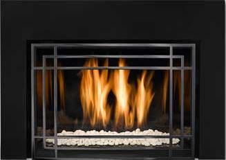 Mendota Gas Fireplace Insert  - FV33i and  FV44i - Modern