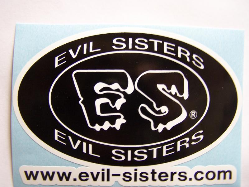 Evil Sisters Decal