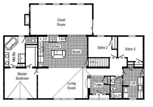 HR 130-AV1 Floor Plan