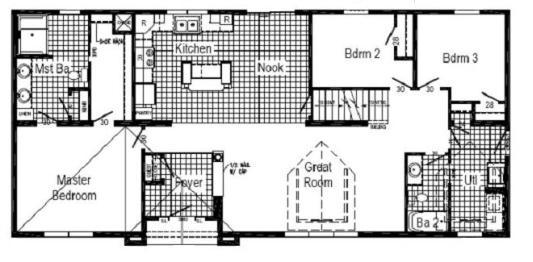 HR 130-A22 Floor Plan