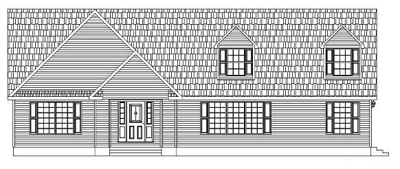 Front Elevation of the HR 130-A22