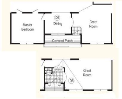 Optional Front Entry Layouts