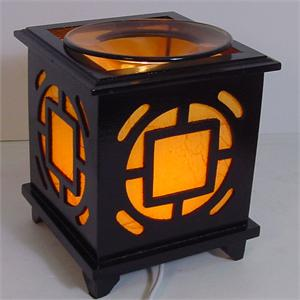 oil warmer, tart burner, electric wood box d446