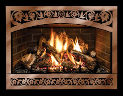 Mendota Gas Fireplace DXV35 Deep Timber 4 (DT4)